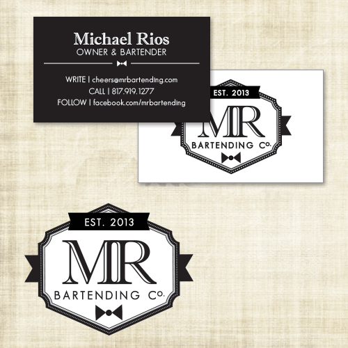 MR Bartending Logo